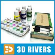 Lacksatz von 3DRivers 3d model