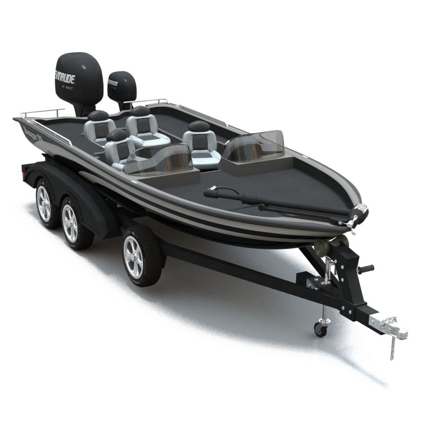 Boat 001 royalty-free 3d model - Preview no. 1