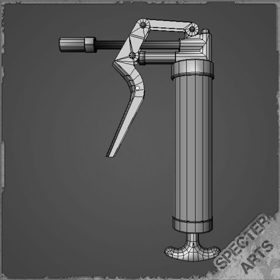 Grease gun royalty-free 3d model - Preview no. 12