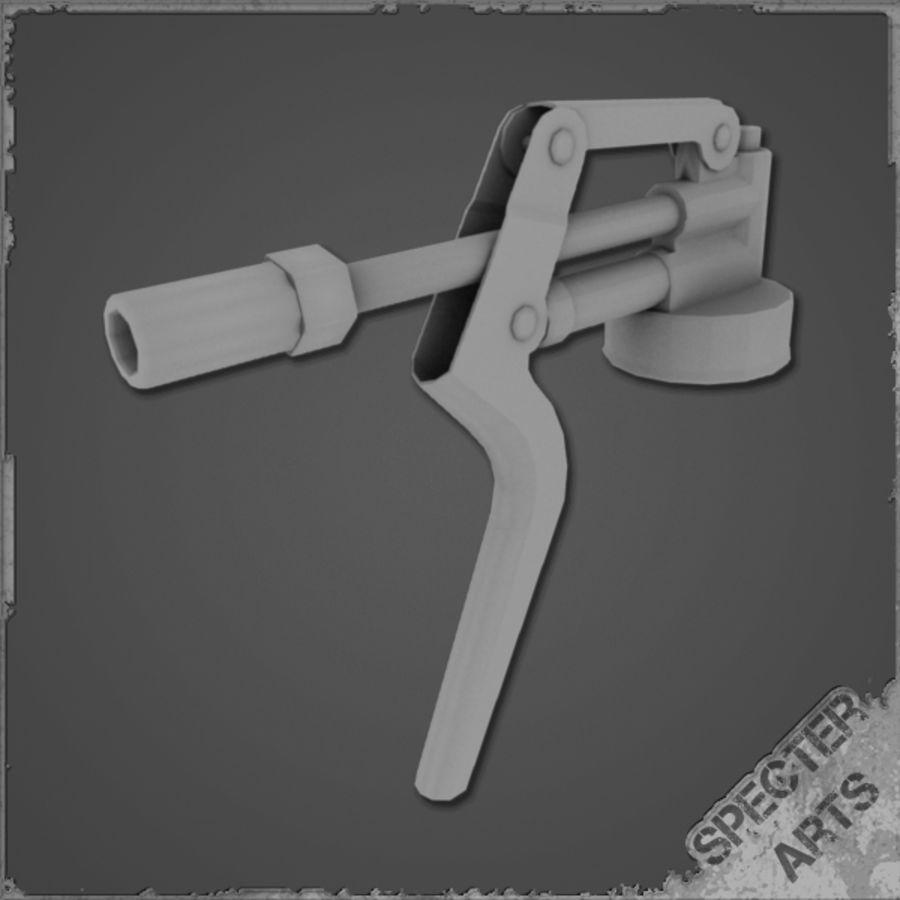 Grease gun royalty-free 3d model - Preview no. 8