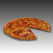 Pizza (kaas) 3d model
