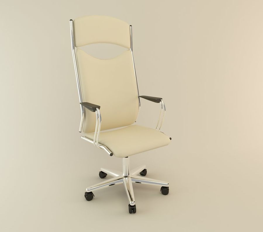 chair 03 royalty-free 3d model - Preview no. 1