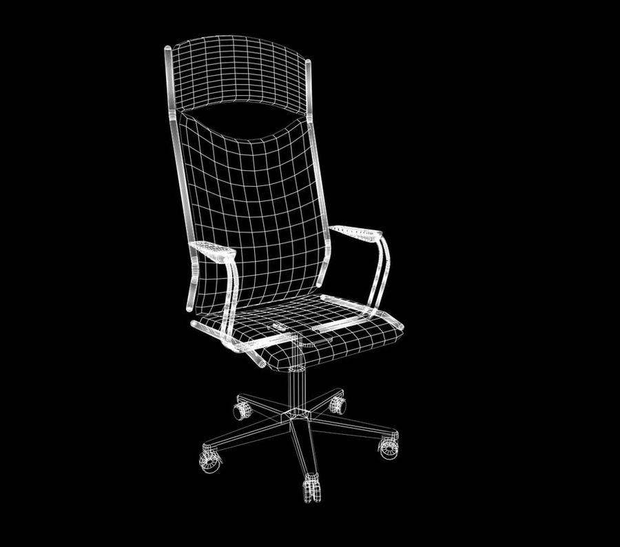chair 03 royalty-free 3d model - Preview no. 2