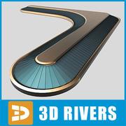 Grote carrousel door 3DRivers 3d model
