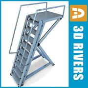 Stepladder by 3DRivers 3d model