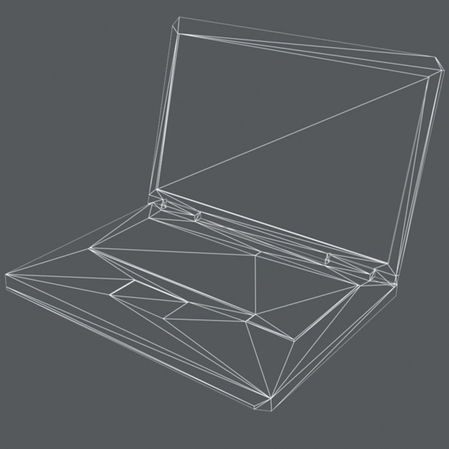 Notebook 03 royalty-free 3d model - Preview no. 12