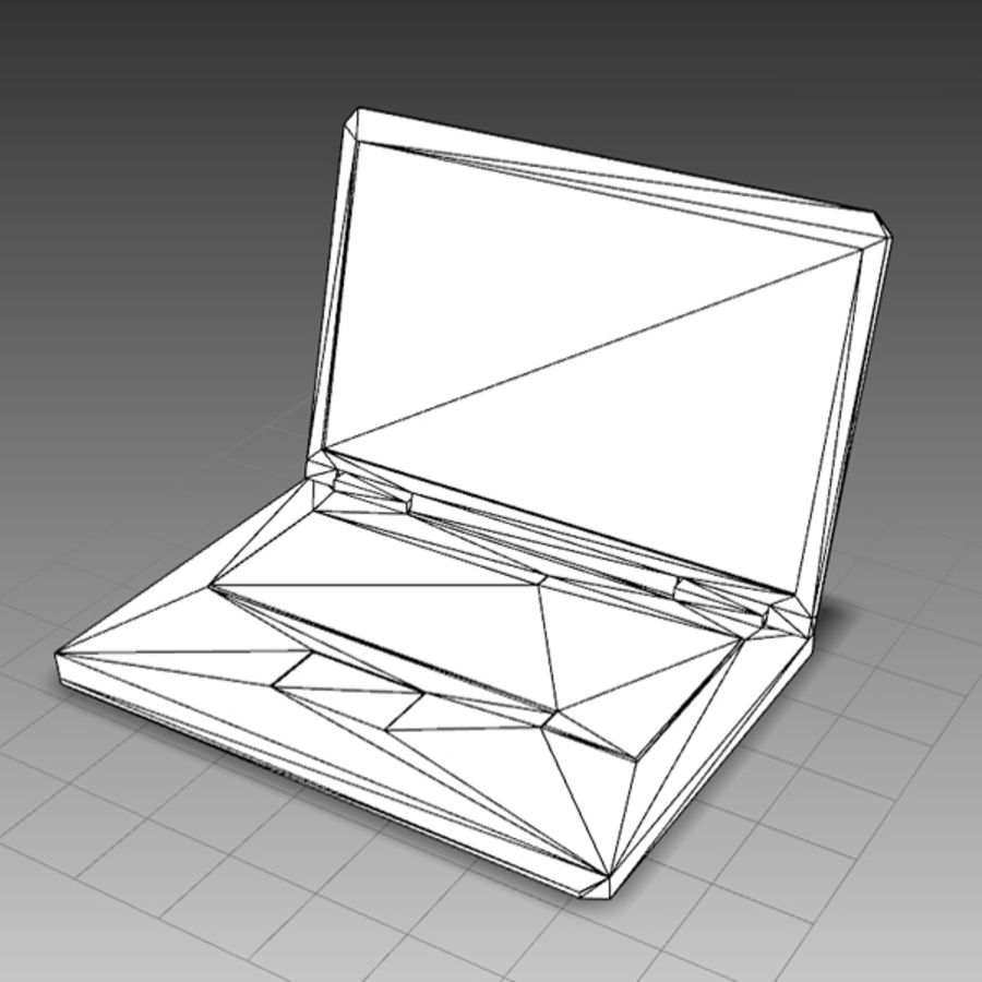 Notebook 03 royalty-free 3d model - Preview no. 6