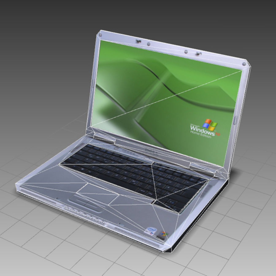 Notebook 03 royalty-free 3d model - Preview no. 5
