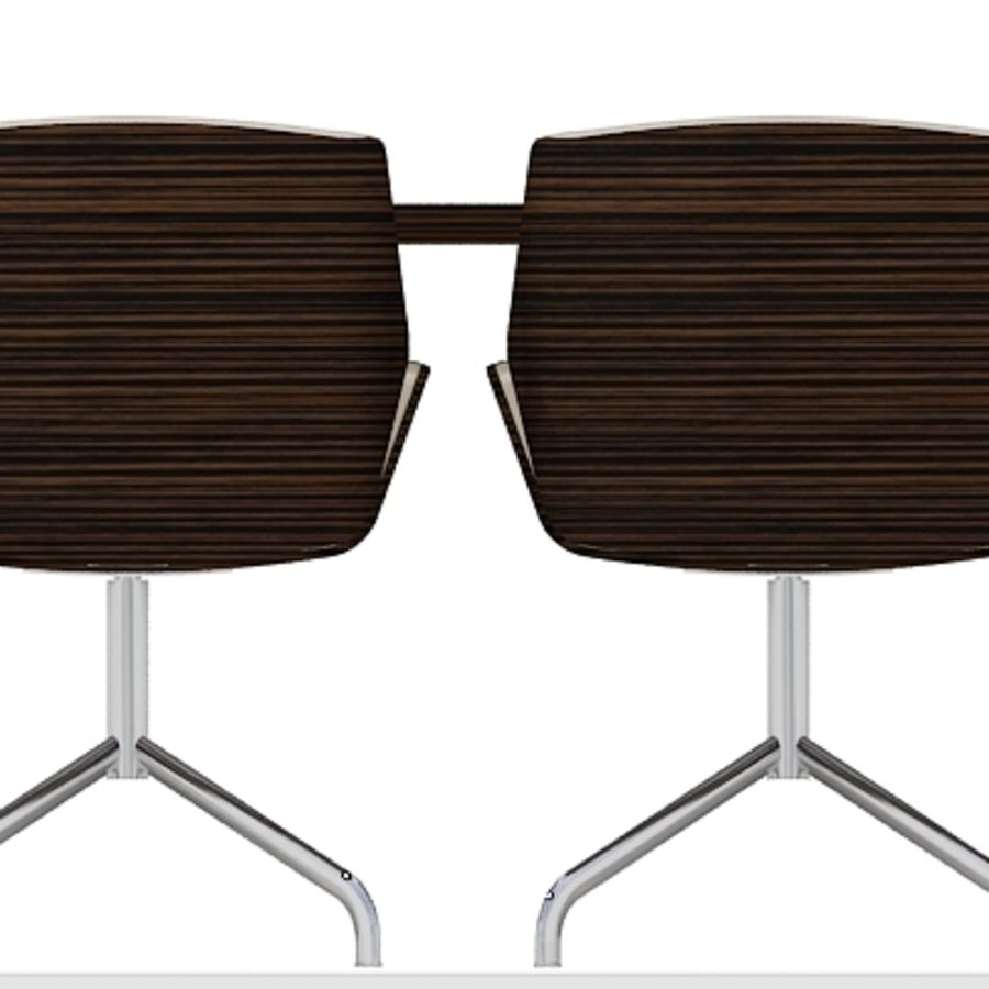 Meeting Room Furniture 03 royalty-free 3d model - Preview no. 5