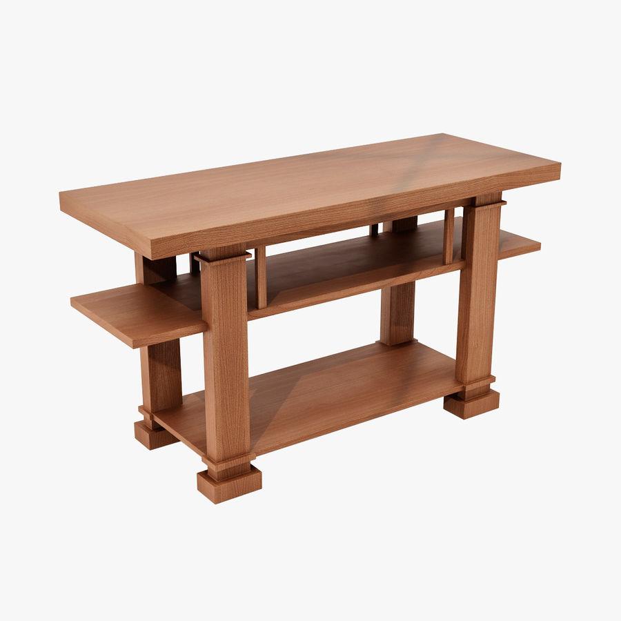 Boynton Hall Table royalty-free 3d model - Preview no. 1