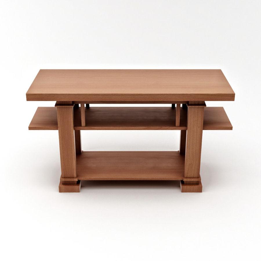 Boynton Hall Table royalty-free 3d model - Preview no. 6