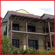 high def Latin Hacienda Modern Condo duplex 3d model