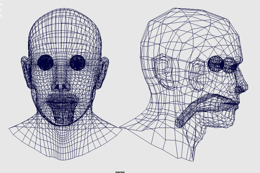 Head.ma royalty-free 3d model - Preview no. 17