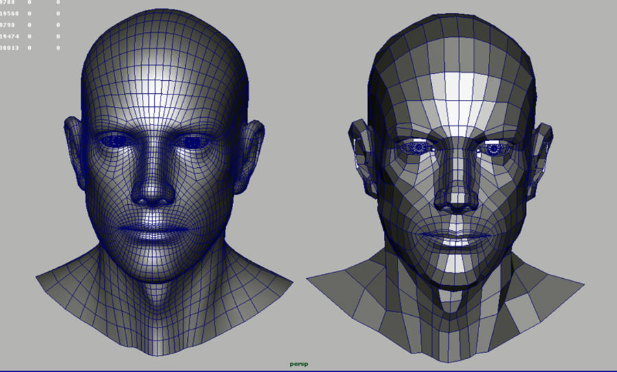 Head.ma royalty-free 3d model - Preview no. 13