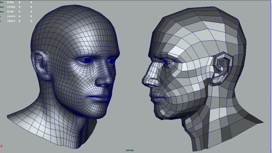 Head.ma royalty-free 3d model - Preview no. 14