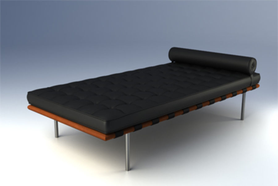 Pleasant Barcelona Day Bed 3D Model 10 Unknown Fbx Max Lxo Evergreenethics Interior Chair Design Evergreenethicsorg