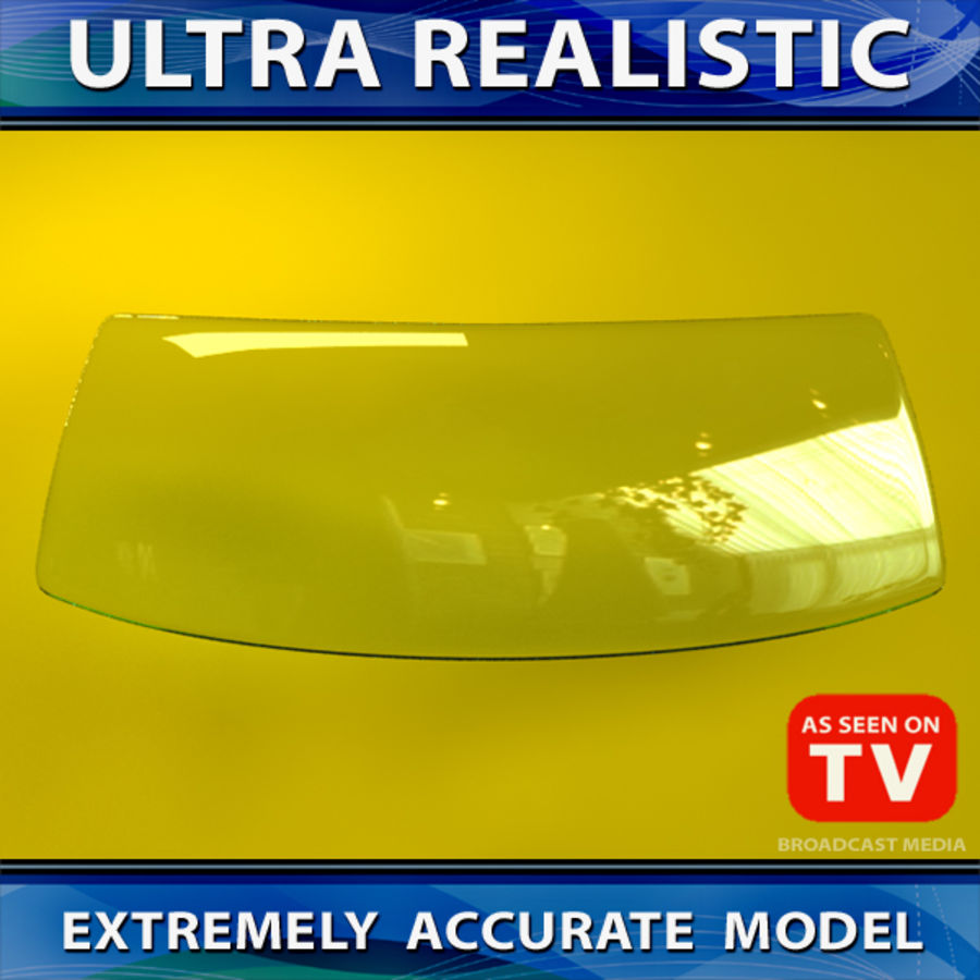 Windshield (VEHICLE) royalty-free 3d model - Preview no. 3