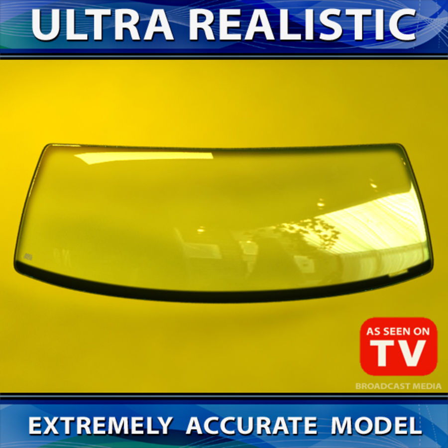 Windshield (VEHICLE) royalty-free 3d model - Preview no. 1
