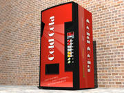 Cold Cola Vending Machine 3d model