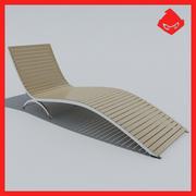 Ligstoel 3d model