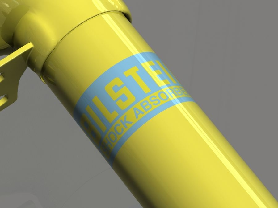 Bilstein car suspension royalty-free 3d model - Preview no. 6