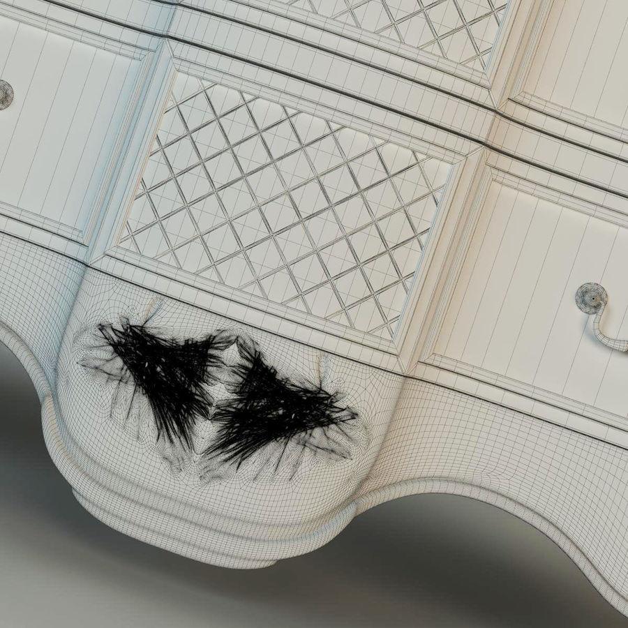 Francesco Molon Chest K73 royalty-free 3d model - Preview no. 7