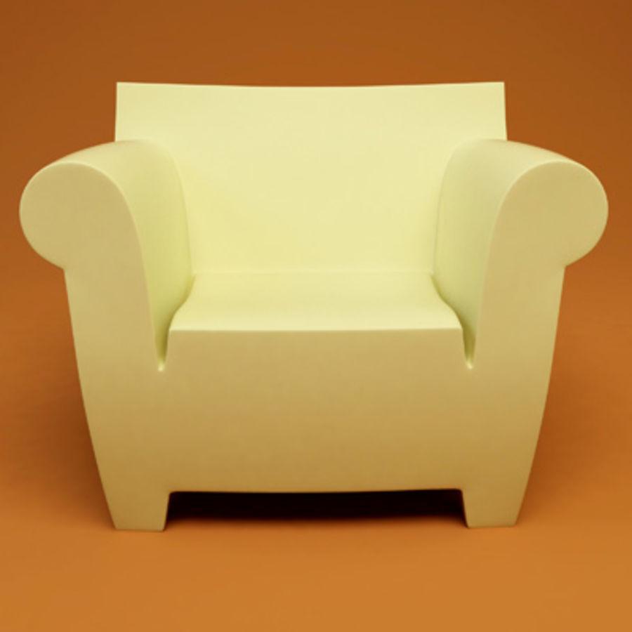 Bubble Club Armchair 3d Model