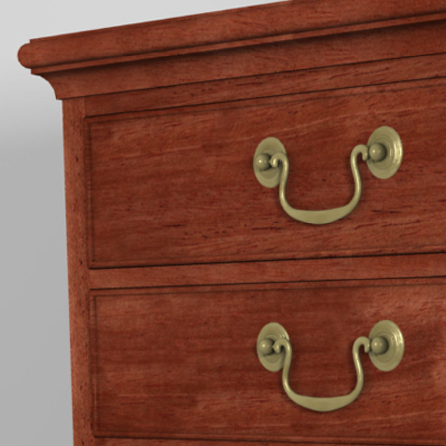 Drawer Cabinet 3d Model royalty-free 3d model - Preview no. 5