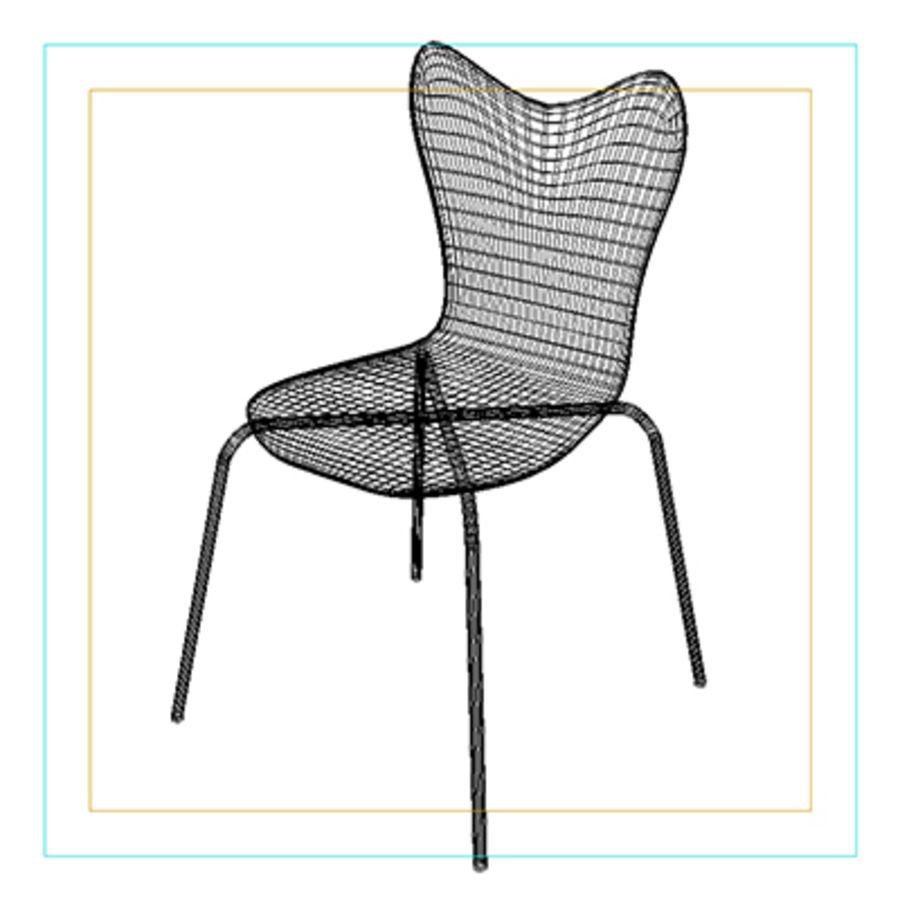 Scoop Back Chair 3d Model 9 Obj 3ds Max Free3d
