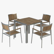 Vigo Table and Chair 3d model