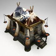 Gobiln temple 3d model