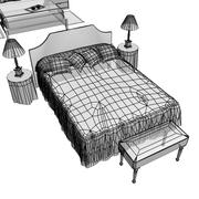 Bedrooms Collection Set 1 - Double 3d model