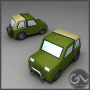 Jeep Low Poly 3d model