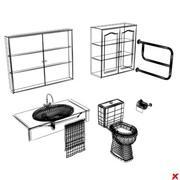 Toilet set003.ZIP 3d model