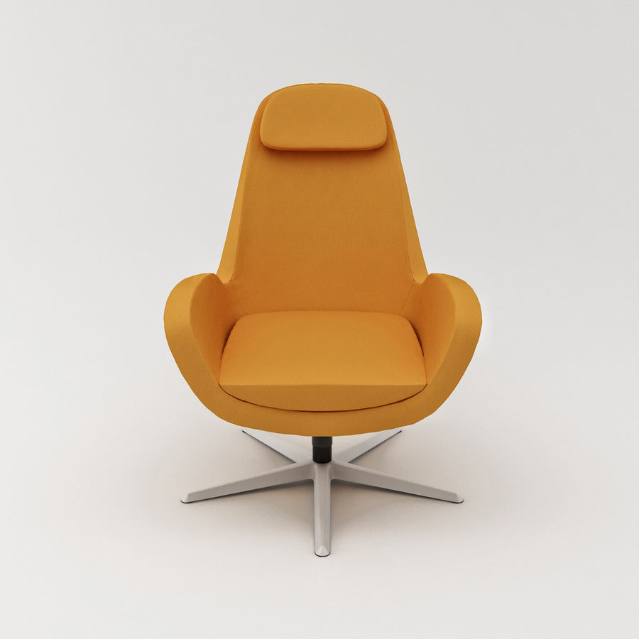 Karlstad Fauteuils Ikea.Karlstad Swivel Chair 3d Model 19 Max Obj Fbx 3ds
