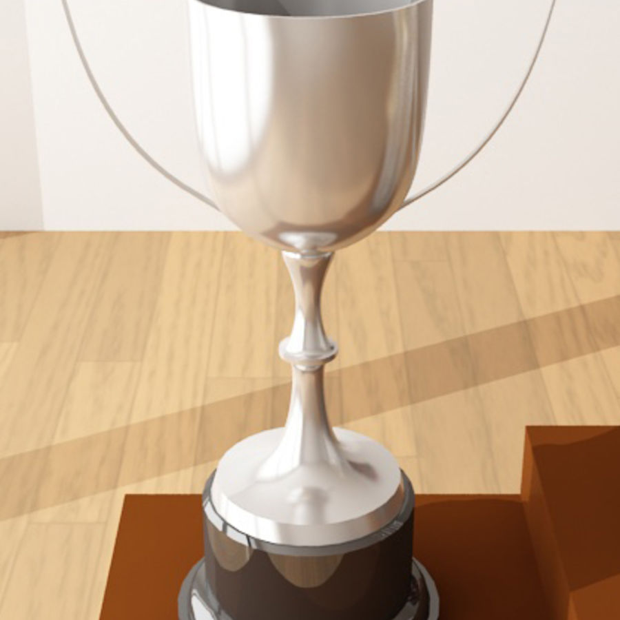 Trophies royalty-free 3d model - Preview no. 3