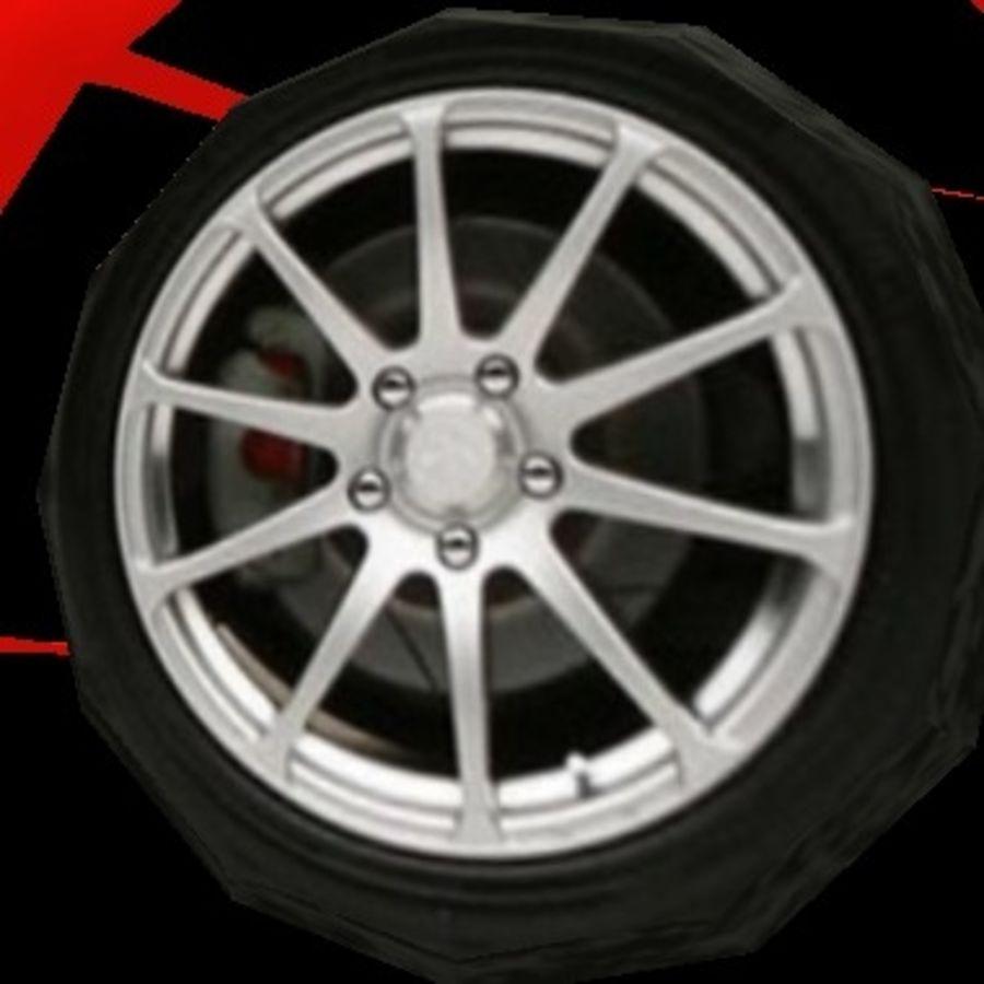 FIAT Grande Punto royalty-free 3d model - Preview no. 4