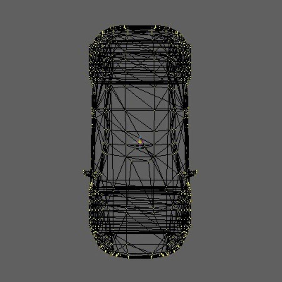 FIAT Grande Punto royalty-free 3d model - Preview no. 5