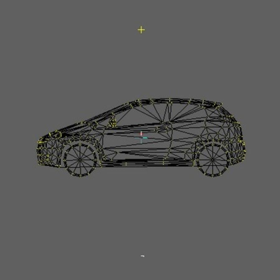 FIAT Grande Punto royalty-free 3d model - Preview no. 6