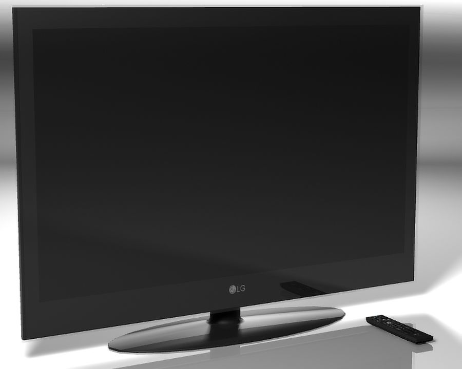 LG Plazma HDTV 60inch.zip royalty-free 3d model - Preview no. 1