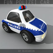 Fun Polizei Car 3d model