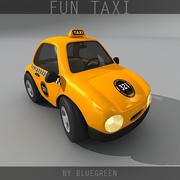 Fun Taxi 3d model