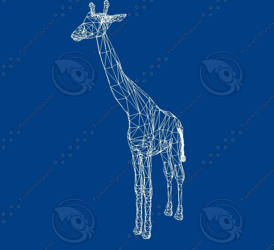 Giraffe.zip royalty-free 3d model - Preview no. 4