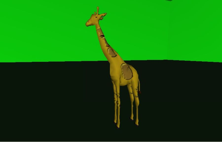 Giraffe.zip royalty-free 3d model - Preview no. 2