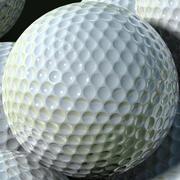 Pallina da golf 3d model