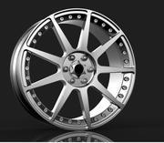 자동차 림 3d model