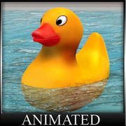 Ducky die Badeente 3d model