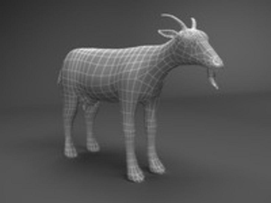 山羊3d模型 royalty-free 3d model - Preview no. 5