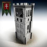 torre modelo 3d