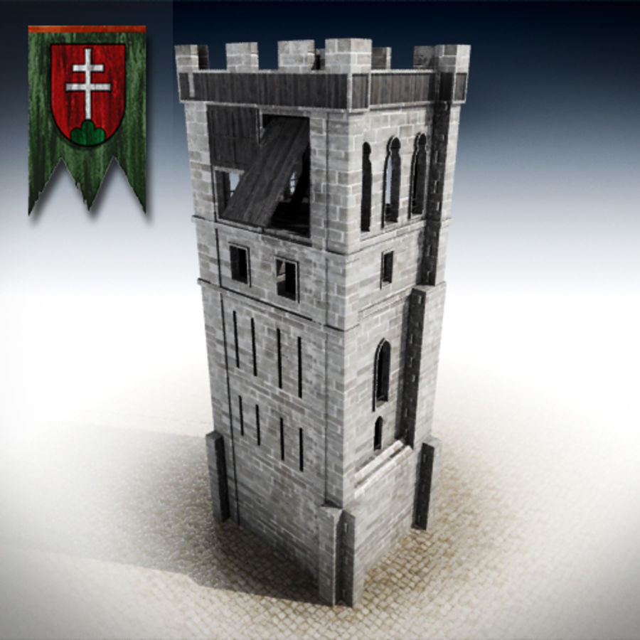 torre royalty-free 3d model - Preview no. 1